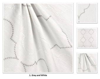 340x270 Embroidered curtains Etsy