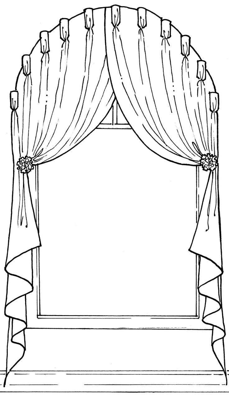 736x1268 36 best Line sketches window decor images on Pinterest Window