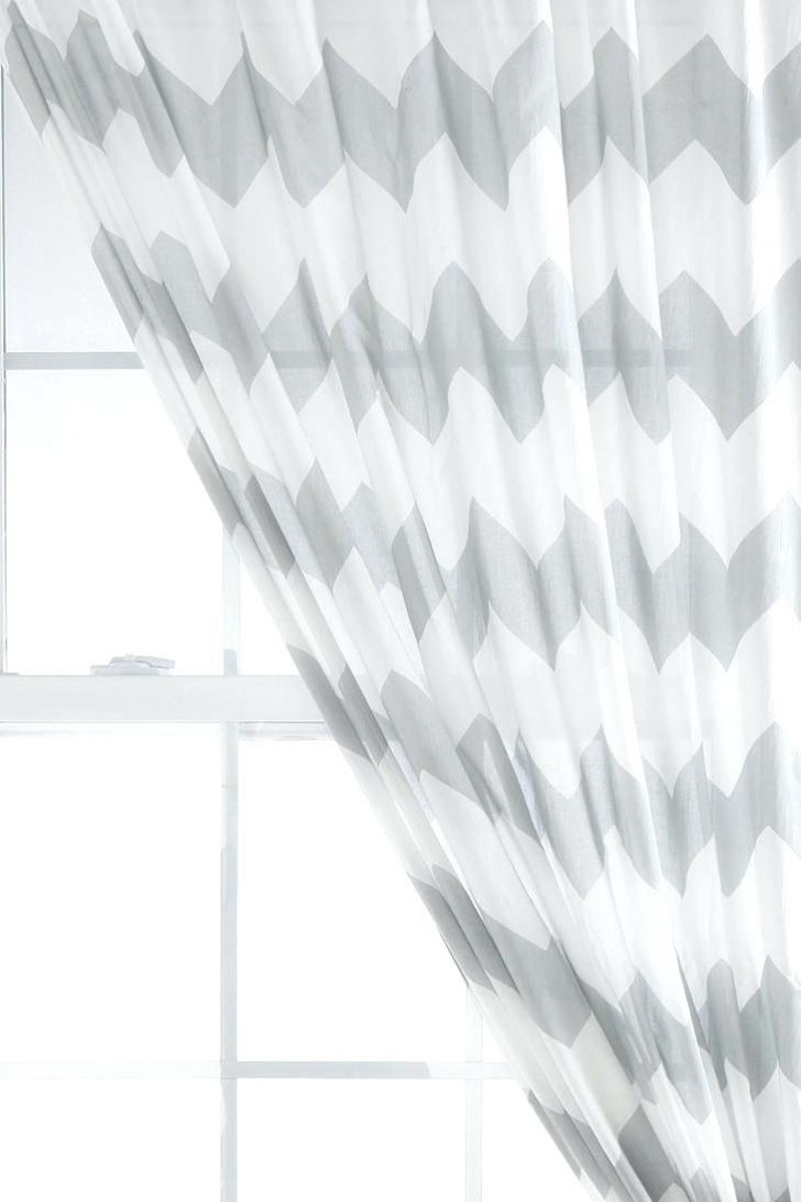728x1092 curtain Cheveron Curtains Image Of Sheer Chevron And Window