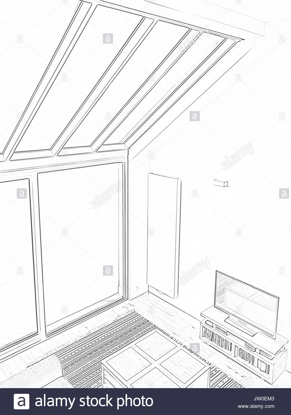 973x1390 Drawing Room Black And White Stock Photos Amp Images