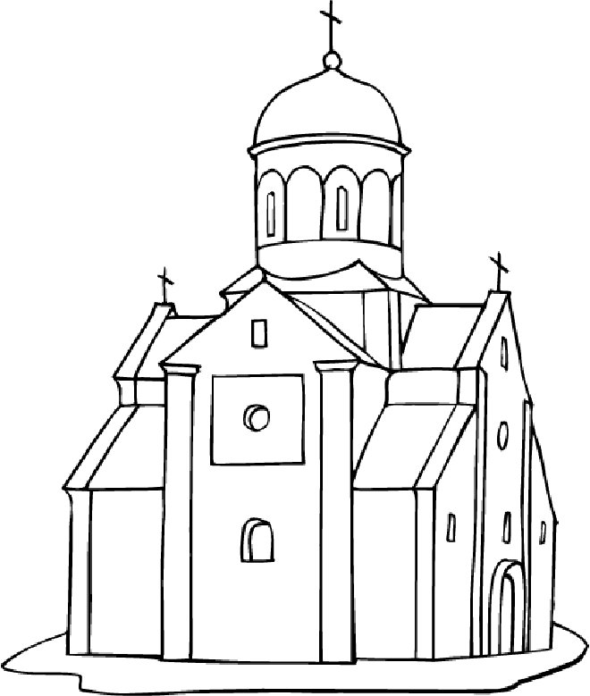 660x779 Coloring Pages Lovely Church Coloring Pages Drawing 7 Church