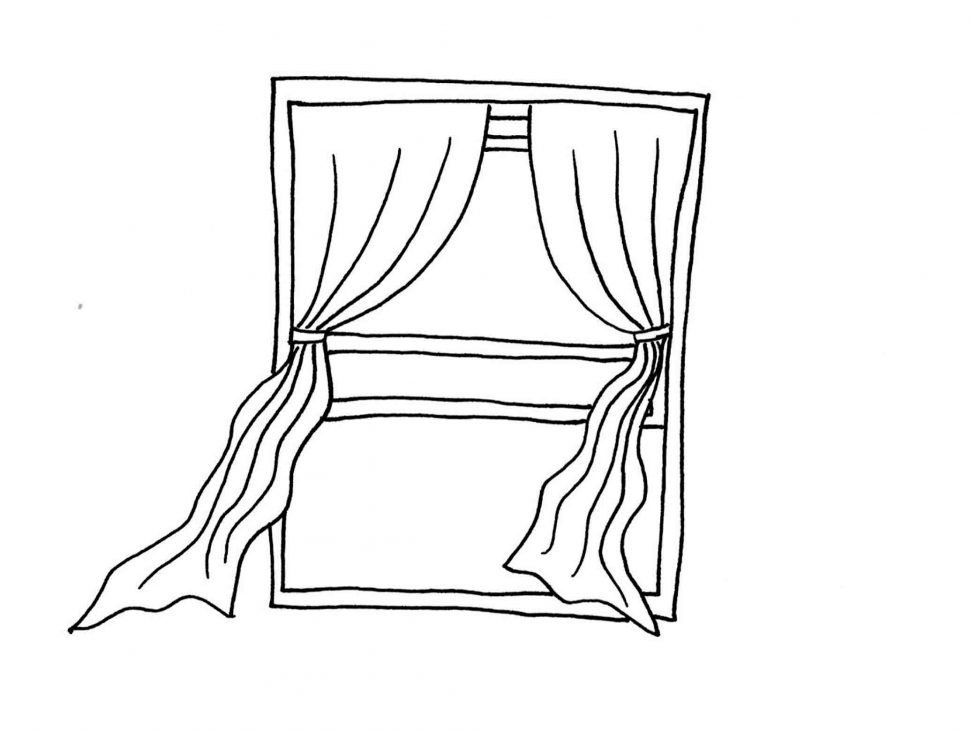 970x731 Coloring Pages Window Coloring Page Christian Stained Glass