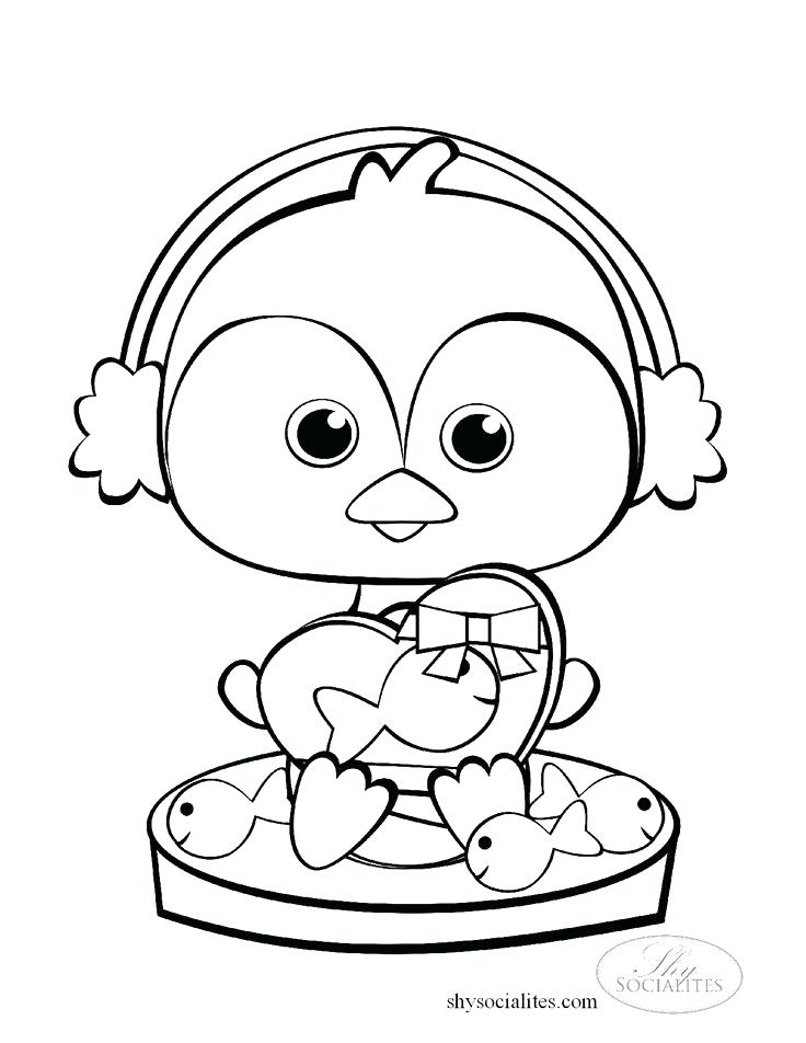 736x952 Baby Penguin Coloring Pages Affan