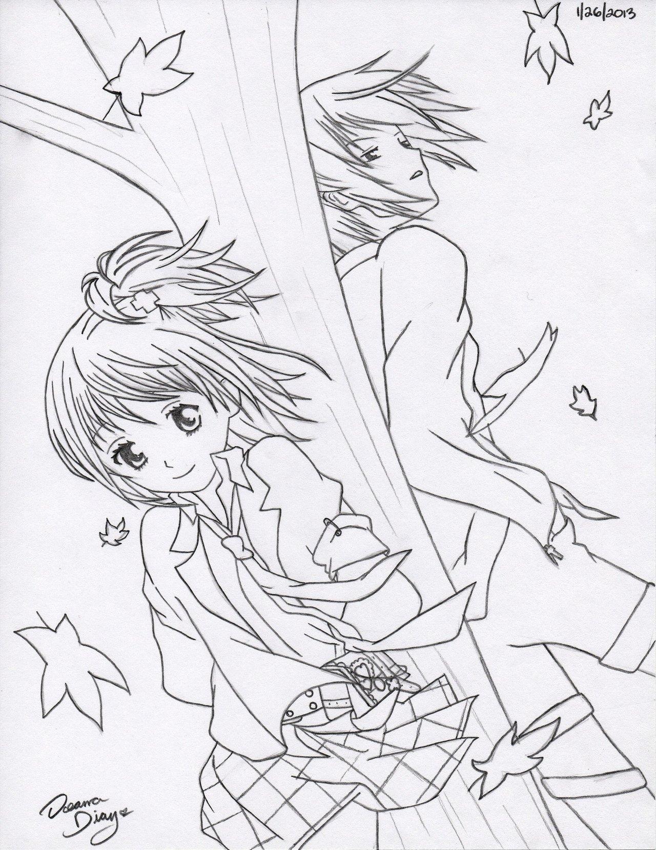 1280x1658 Amu And Ikuto