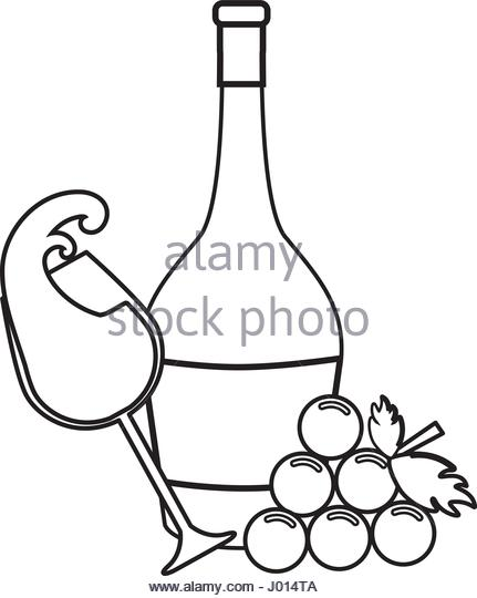 431x540 Champagne Glass And Bottle Black And White Stock Photos Amp Images