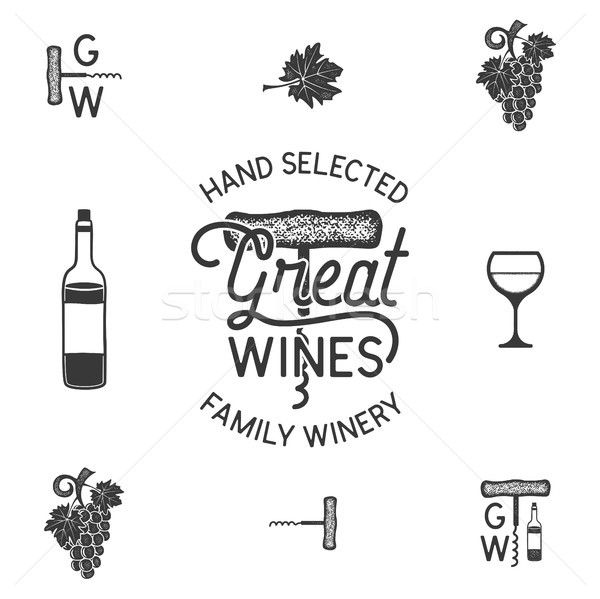 600x599 Wine Bottle Stock Vectors, Illustrations And Cliparts Stockfresh