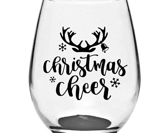 340x270 Christmas Stemless Wine Glasses Christmas Sayings Christmas