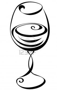 236x368 Tiny Wine Glass Tattoo