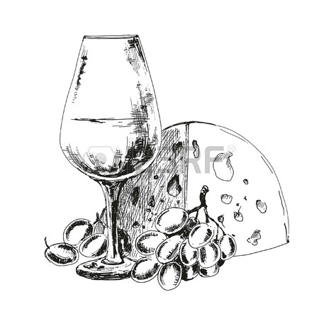Wine Drawing