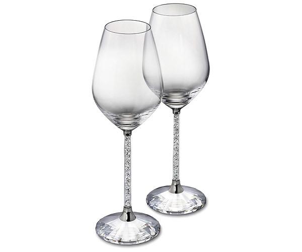 600x500 Crystalline Red Wine Glasses (Set Of 2)