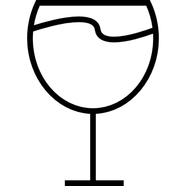 626x626 Wine Glass, Ios 7 Interface Symbol Icons Free Download