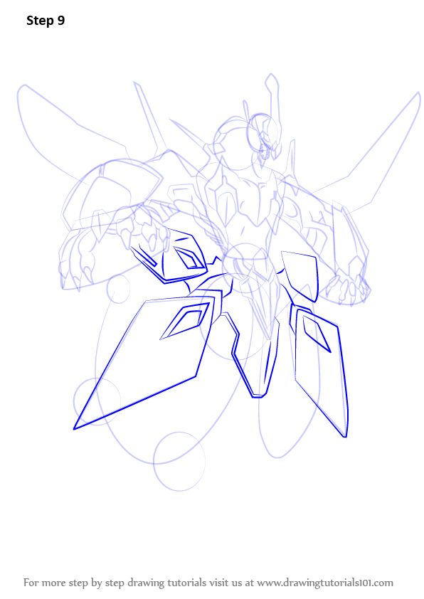 596x842 Learn How To Draw Clear Wing Synchro Dragon From Yu Gi Oh