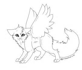 271x230 Warrior Cat Lineart By Skylercakes, Warrior Cats Easy