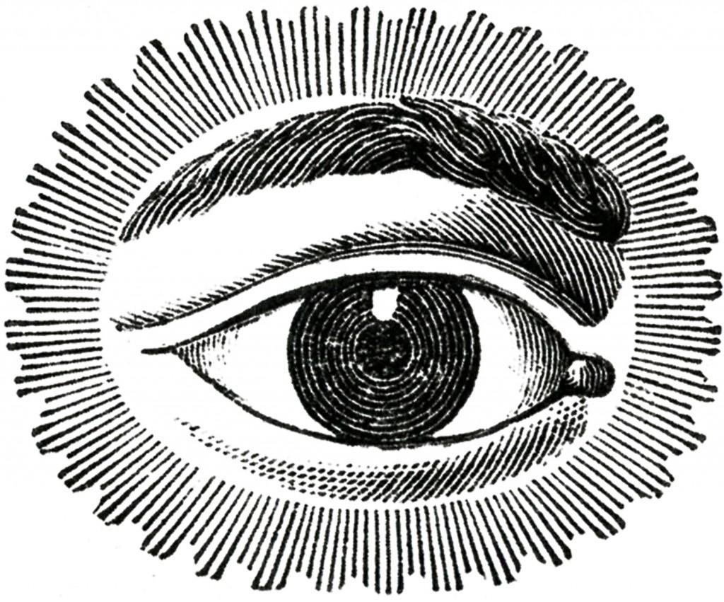 1024x851 Free Public Domain Image Watching Eye Public Domain, Ephemera