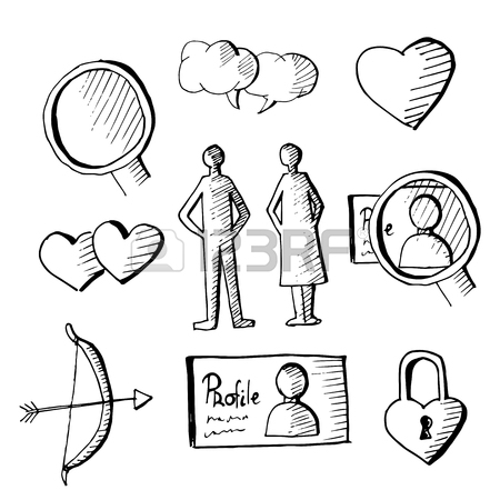 450x450 Cute And Naive Drawings Icon Collection For Web Design Or Graphic