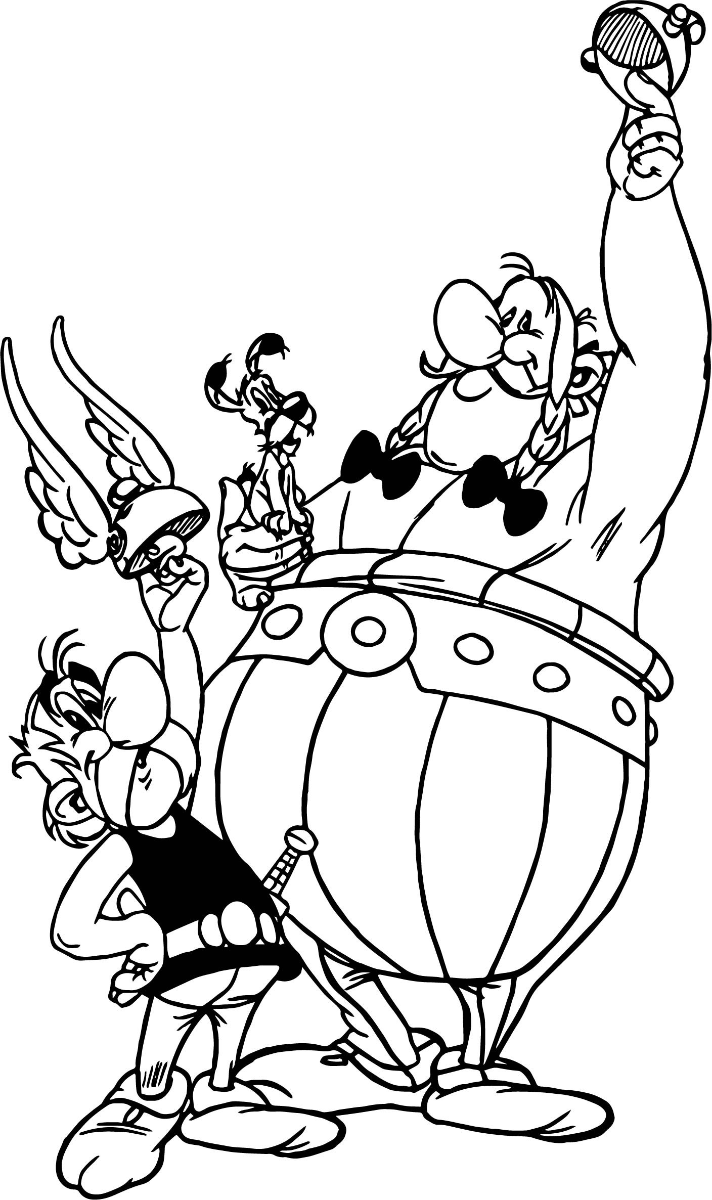 1408x2373 Asterix And Obelix Coloring Pages For Kids Fresh Asterix Obelix