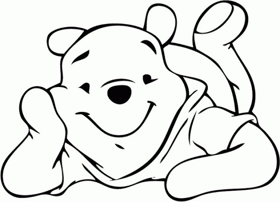570x411 Svg, Disney, Winnie The Pooh, Pooh Silhouette, Pooh Character, Cut