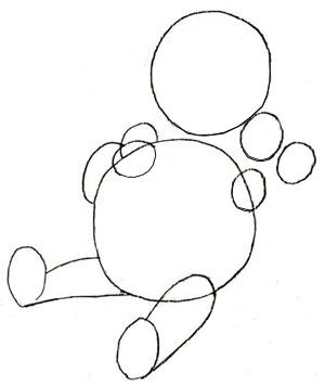 300x356 How To Draw Winnie The Pooh