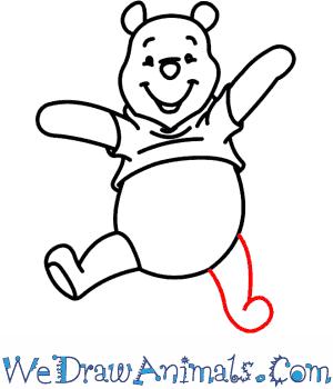300x350 How To Draw Winnie The Pooh