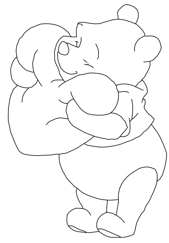 578x830 Images Winnie The Pooh Drawings