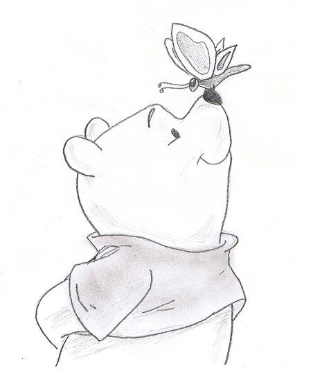 452x561 Winnie The Pooh New Year Drawings Merry Christmas Amp Happy New