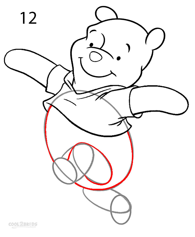 780x950 How To Draw Winnie The Pooh (Step By Step Pictures) Cool2bkids