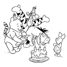 230x230 Top 20 Free Printable Cute Winnie The Pooh Coloring Pages Online
