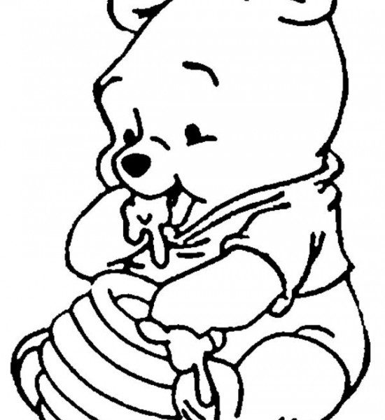 Winnie The Pooh Line Drawing