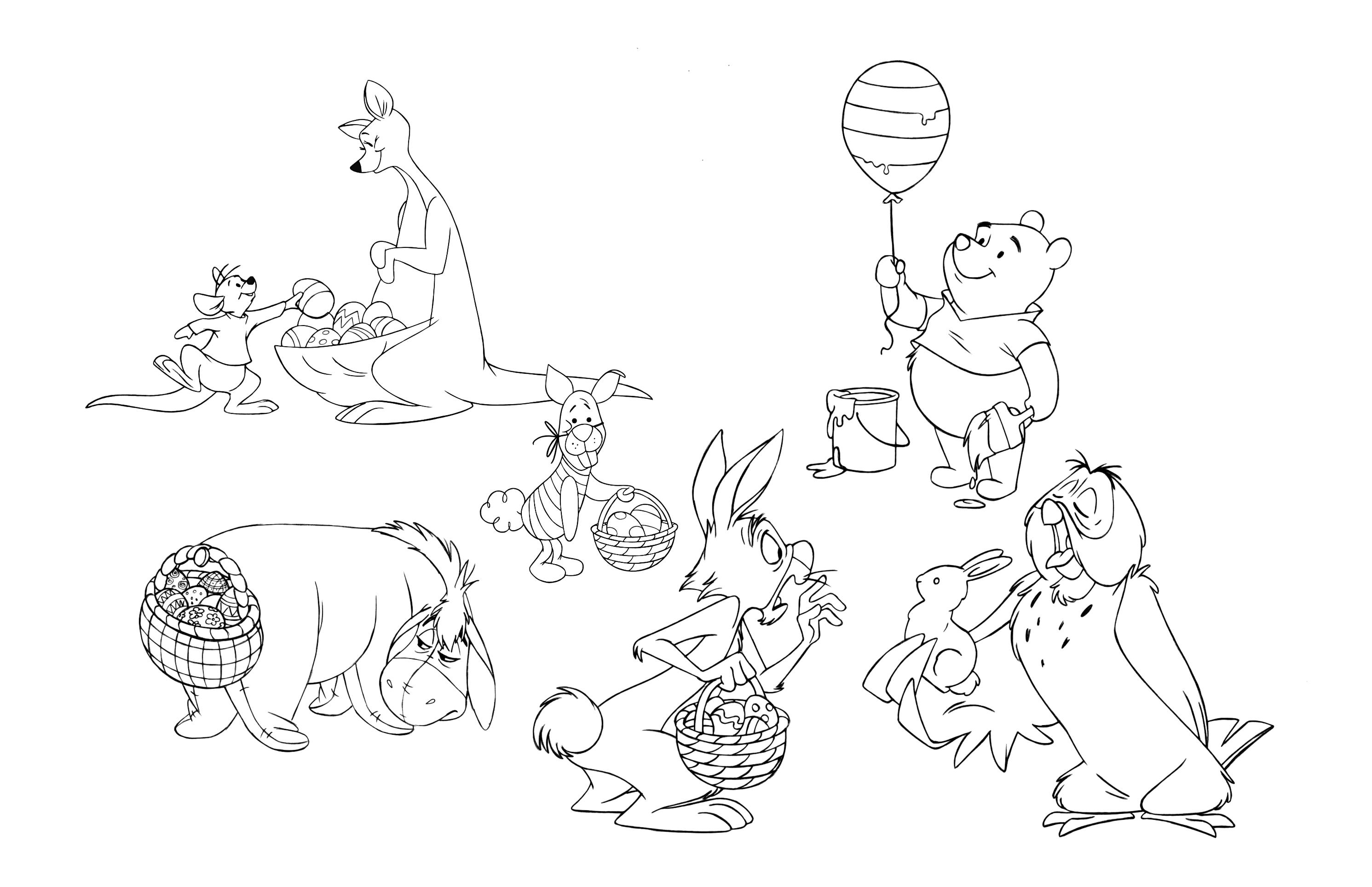 2982x1929 Winnie The Pooh Easter Fun Mama Report