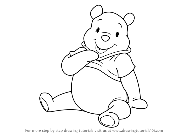 800x565 Coloring Pages Alluring Drawings Of Pooh Bear How To Draw From