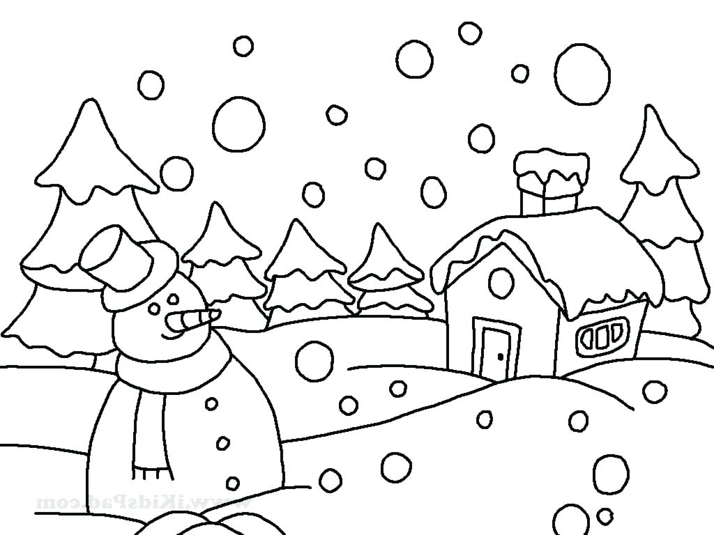 Winter Animals Drawing at GetDrawings | Free download