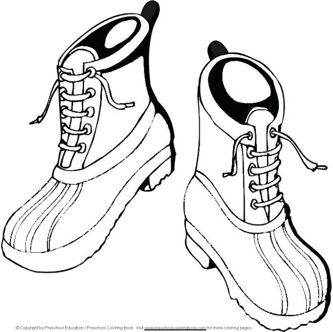 660x659 New Boots Coloring Pages Print Pictures For Kids To Colour