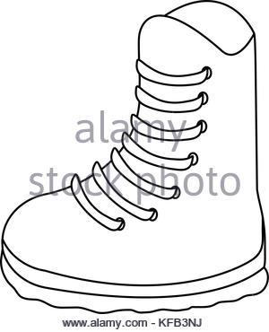 300x370 Winter Boots Icon, Cartoon Style Stock Vector Art Amp Illustration