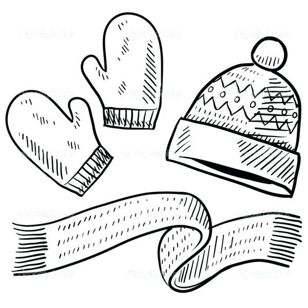 Winter Clothes Drawing At Getdrawings Com Free For Personal Use