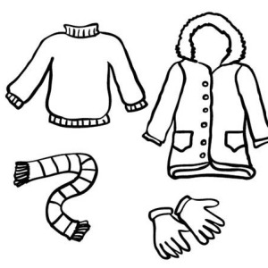 300x300 Coat For Women Winter Clothing Coloring Page Coat For Women
