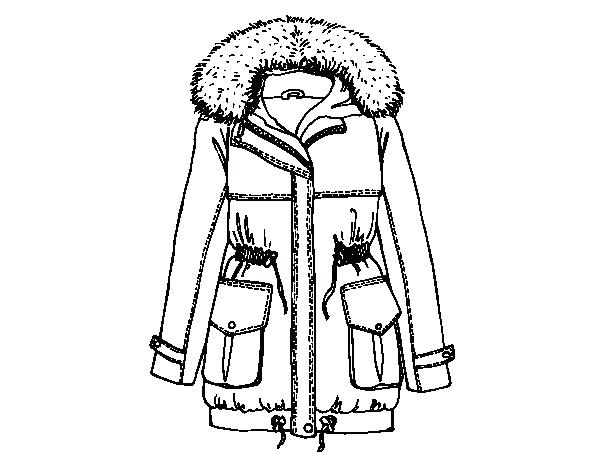 600x470 Winter Coat Coloring Page Joandco.co
