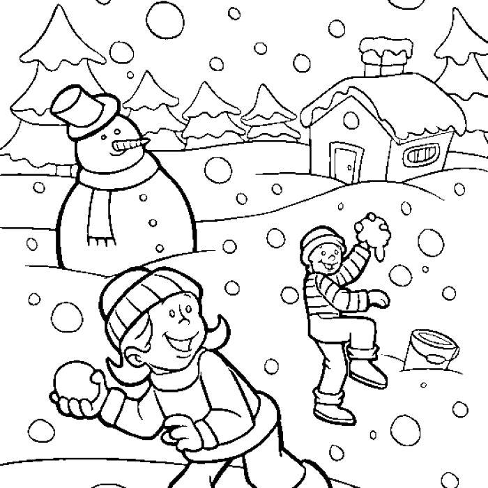 700x700 Winter Season Drawing Ideas Easy