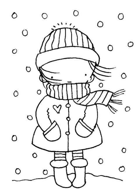 474x663 Easy Drawing Of Winter Season Winter Season Coloring Pages, Winter
