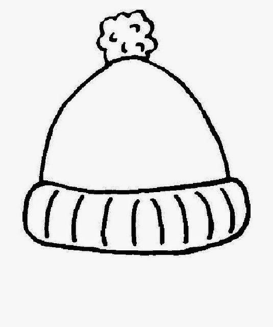 Winter Hat Drawing