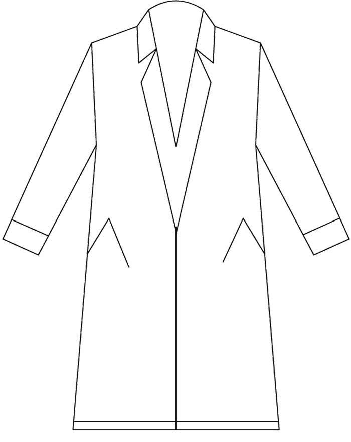 graphic regarding Printable Jacket named Wintertime Jacket Drawing at  Free of charge for unique