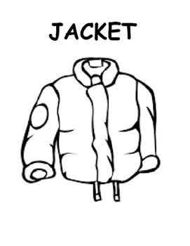 271x350 Jacket I Wear In The Snow Printable Bookquestions (Autism, Speech
