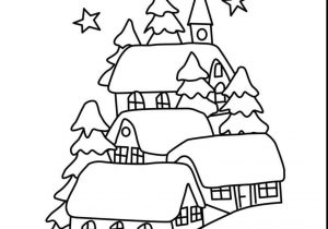 300x210 Winter Landscape Drawing For Kids