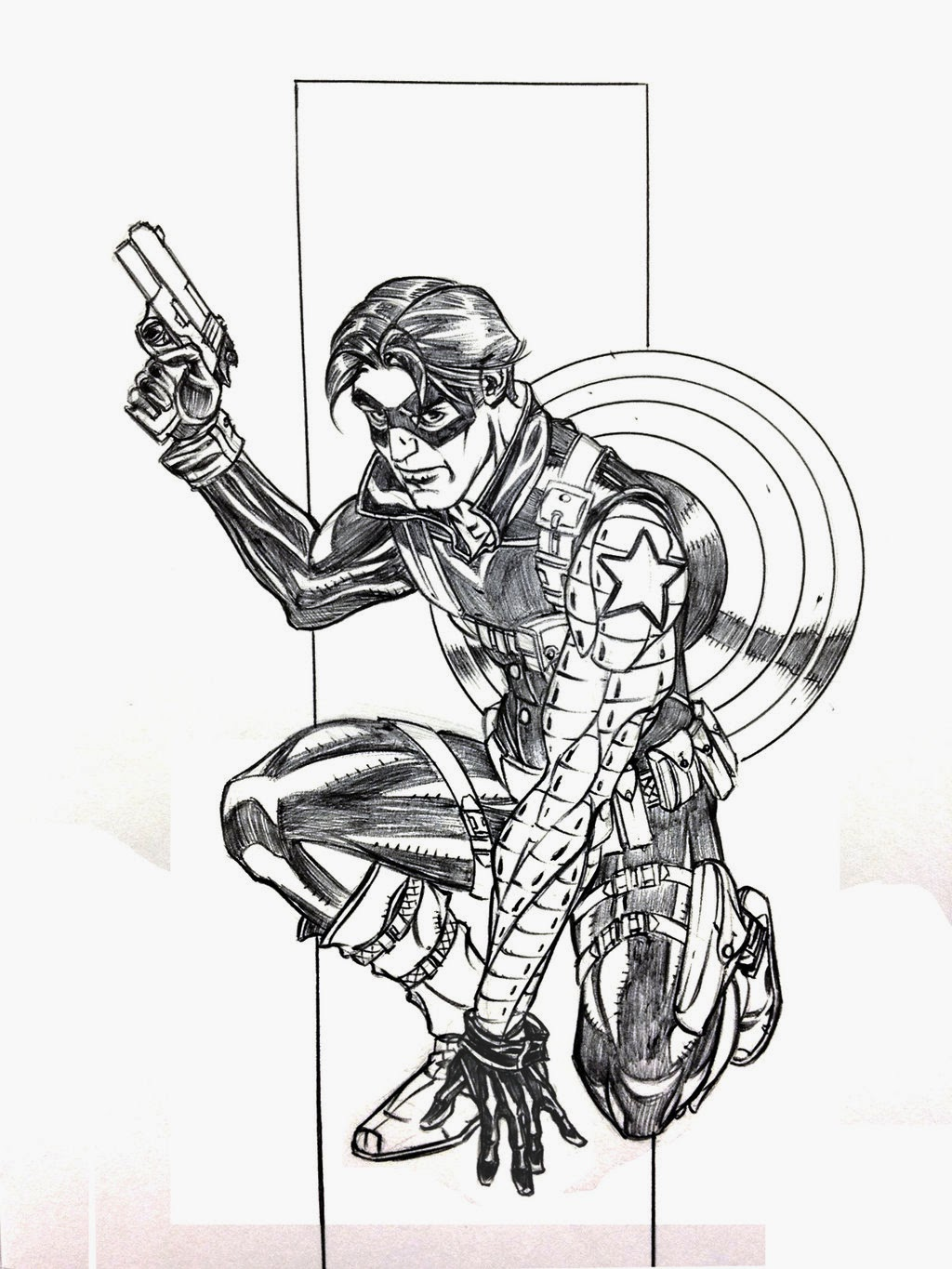 1024x1365 Fashion And Action Winter Soldier Saturday Art Gallery!