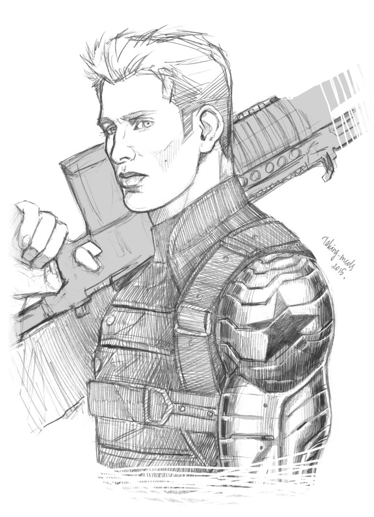 760x1050 The Winter Soldier Steve Rogers By Taking Meds