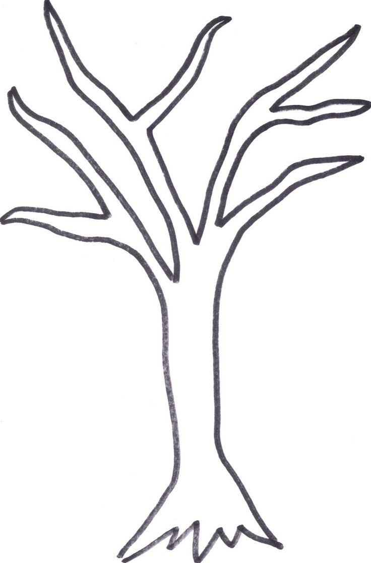 Winter Tree Templates
