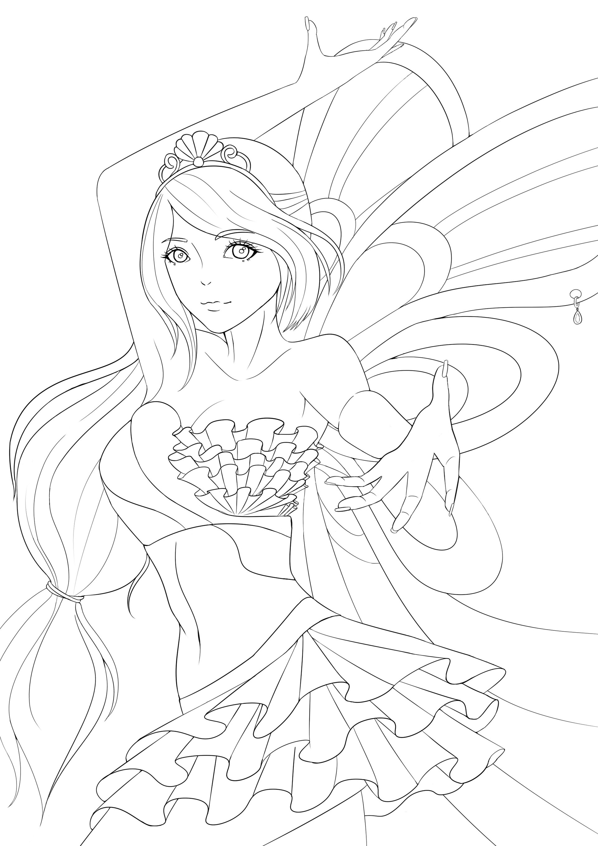 Winx Club Bloom Drawing