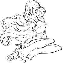 220x220 Bloom The Leader Of The Winx Club Coloring Pages