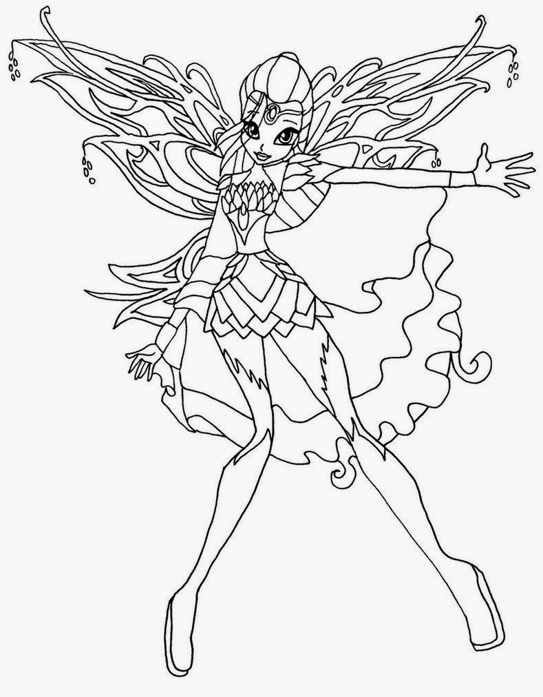 789x1012 Bloomix Was Very Hard To Draw This Pic Take Like 2 Hours For Each
