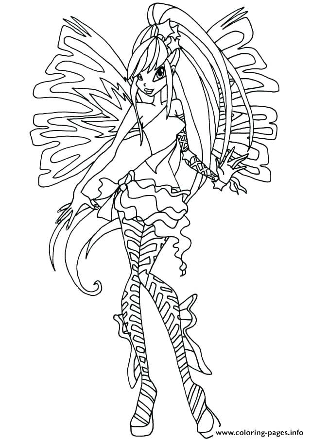 640x905 Entertaining Winx Club Coloring Pages Crayola Photo Bloom Games