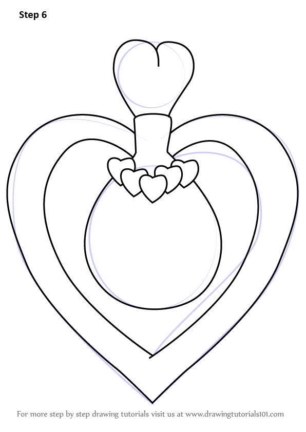 596x842 Learn How To Draw Bloom Fairy Dust Bottle From Winx Club (Winx